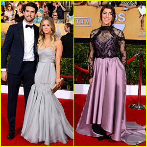 Kaley Cuoco & Ryan Sweeting - SAG Awards 2014 Red Carpet