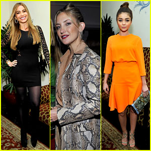 Kate Hudson & Sofia Vergara Glam Up for Pre-Globes Party!
