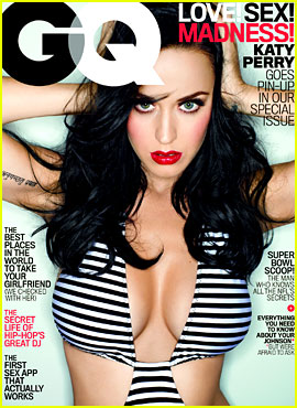 Katy Perry Covers 'GQ' in Super Sexy & Revealing Swimsuit!