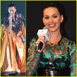 Katy Perry Performs at the First Infiniti Brand Festival in China