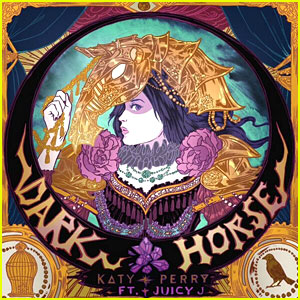 Katy Perry Reveals 'Dark Horse' Single Artwork!