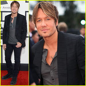 Keith Urban - Grammys 2014 Red Carpet