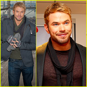 Kellan Lutz Does a Bollywood Workout for 'Kelly & Michael'!