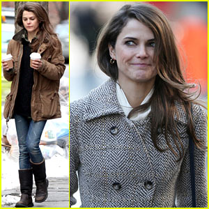 Keri Russell & Matthew Rhys Get in Bed Together for 'The Americans'
