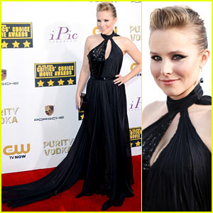 Kristen Bell - Critics' Choice Movie Awards 2014 Red Carpet