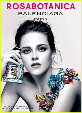 Kristen Stewart: Topless in Balenciaga's Rosabotanica Ad!
