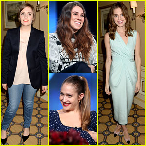 Lena Dunham & Allison Williams: 'Girls' Nudity Baffles Critic
