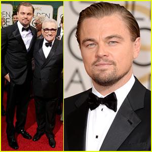 Leonardo DiCaprio: Golden Globes 2014 with Martin Scorsese