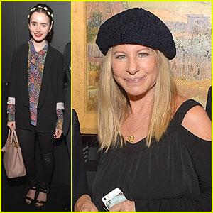Lily Collins & Barbra Streisand: Van Gogh Museum Editions U.S. Debut!
