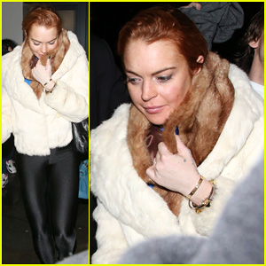 Lindsay Lohan: Boujis Night Out!