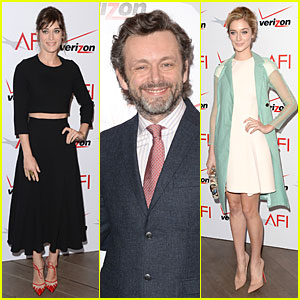 Lizzy Caplan & Michael Sheen - AFI Awards 2014