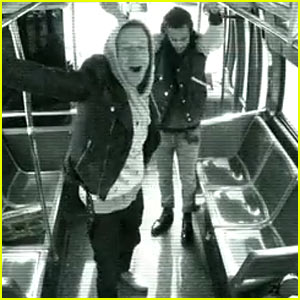 Macklemore & Ryan Lewis Surprise NYC Bus Riders with a Free Concert!