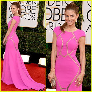 Maria Menounos - Golden Globes 2014 Red Carpet