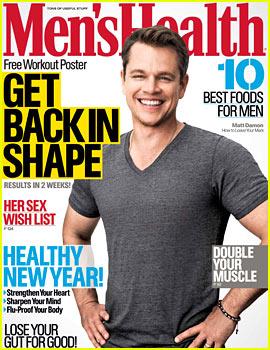 Matt Damon Discusses World Water Crisis with 'Men's Health'