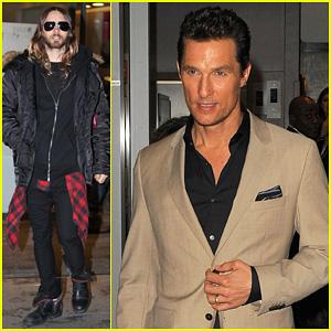 Matthew McConaughey & Jared Leto: BBC Radio Visit!