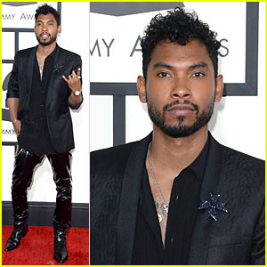 Miguel - Grammys 2014 Red Carpet