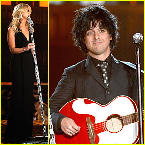 Miranda Lambert & Billie Joe Armstrong: 'When I Will Be Loved' at the Grammys 2014 (Video)!