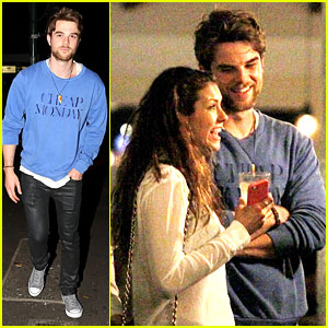 Nina Dobrev: Sydney Night Out with Nathaniel Buzolic!