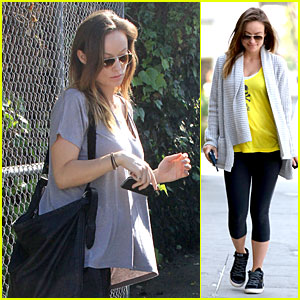 Olivia Wilde: I'm Very Happy to See Rain in L.A.!
