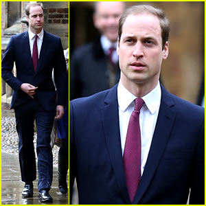 Prince William Arrives for First Day of School at Cambridge!