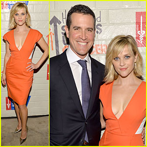 Reese Witherspoon: Hostess with the Mostess for Stand Up to Cancer!
