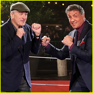 Robert De Niro & Sylvester Stallone: 'Grudge Match' Rome Premiere & Photo Call!