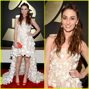 Sara Bareilles - Grammys 2014 Red Carpet