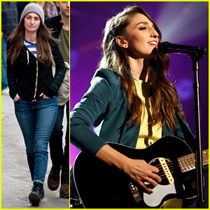 Sara Bareilles Performs New Single 'I Choose You' on 'Kimmel'!