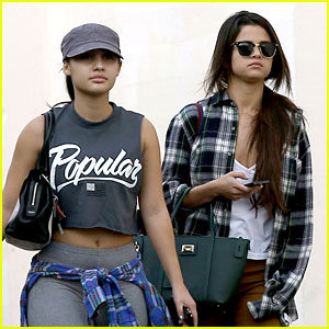 Selena Gomez Shops Before Hanging Out with Justin Bieber