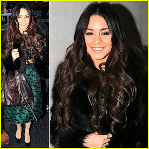 Vanessa Hudgens Meets Meryl Streep, Freaks Out - Watch Now!