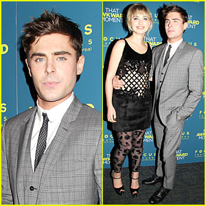 Zac Efron & Imogen Poots: 'That Awkward Moment' Premiere!