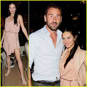 Adriana Lima: Miami Boat Party with Husband Marko Jaric!