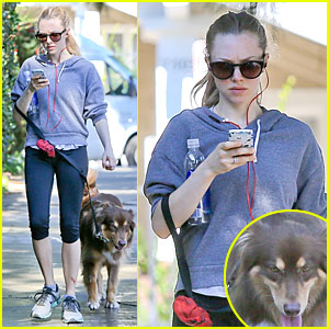 Amanda Seyfried: Finn Likes to Scope Talent at the Beach!