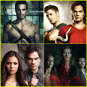 Arrow,' 'Vampire Diaries,' 'Supernatural,' & More Renewed By CW!
