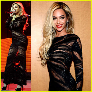 Beyonce Surprises Crowd at Jay Z's Pre-Super Bowl Concert!
