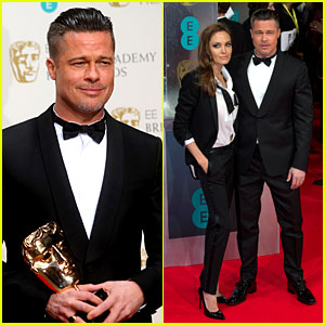 Brad Pitt WINS Best Film at BAFTAs 2014 - Watch Video Here!