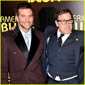 Bradley Cooper: 'American Hustle' Paris Premiere with David O. Russell!