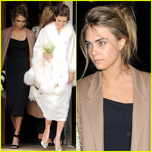 Cara Delevingne Celebrates Sister Chloe's 'Amazing' Wedding Day
