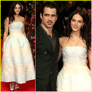 Colin Farrell & Jessica Brown-Findlay Bring 'Winter's Tale' to the UK