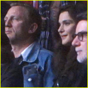 Daniel Craig & Rachel Weisz: Date Night at Amnesty International Concert