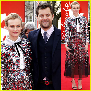 Diane Kruger Brings Joshua Jackson Along for Berlin Film Festival Premiere!