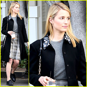 Dianna Agron Steps Out After Split from Nick Mathers