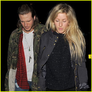 Ellie Goulding & Rumored Boyfriend Dougie Poynter Step Out Together