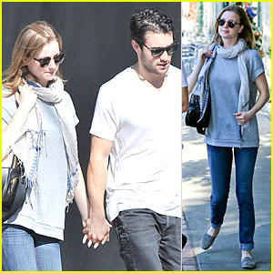 Emily VanCamp & Josh Bowman Hold Hands Before Valentine's Day!