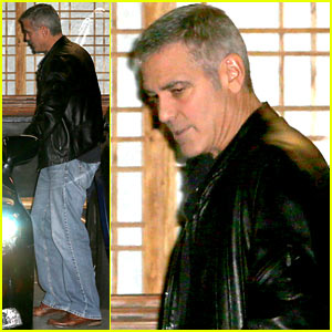 George Clooney Spotted Holding Hands with Lawyer Amal Alamuddin