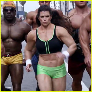 GoDaddy Super Bowl Commercial 2014 (Video) - Danica Patrick & Bodybuilders!