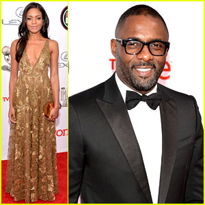 Idris Elba & Naomie Harris - NAACP Image Awards 2014