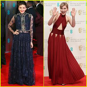 Imogen Poots & Maggie Gyllenhaal: BAFTAs 2014 Red Carpet!