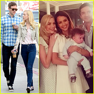 Jaime King: James Knight's Blessing with Godparents Jessica Alba & Topher Grace!