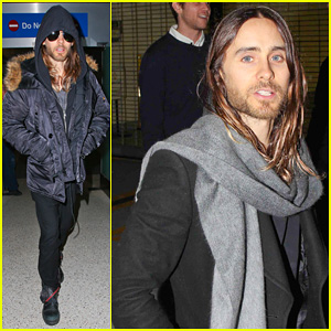 Jared Leto Grabs Dinner with Terry Richardson at Mr. Chow!